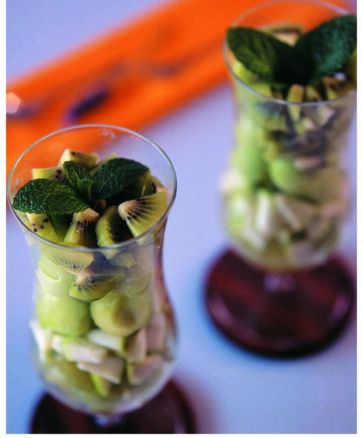 Emerald fruit salad p. 516