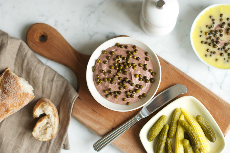 chicken liver pâté with bacon port cooking up a